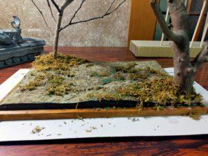 枯れ木と落ち葉とゲパルト対空戦車