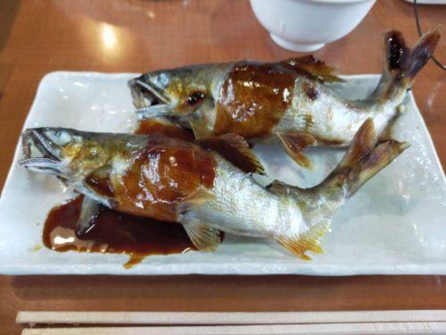 鮎料理やな川 鮎の魚田