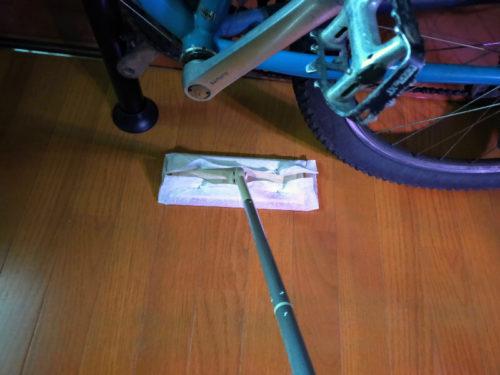 自転車スタンド 掃除