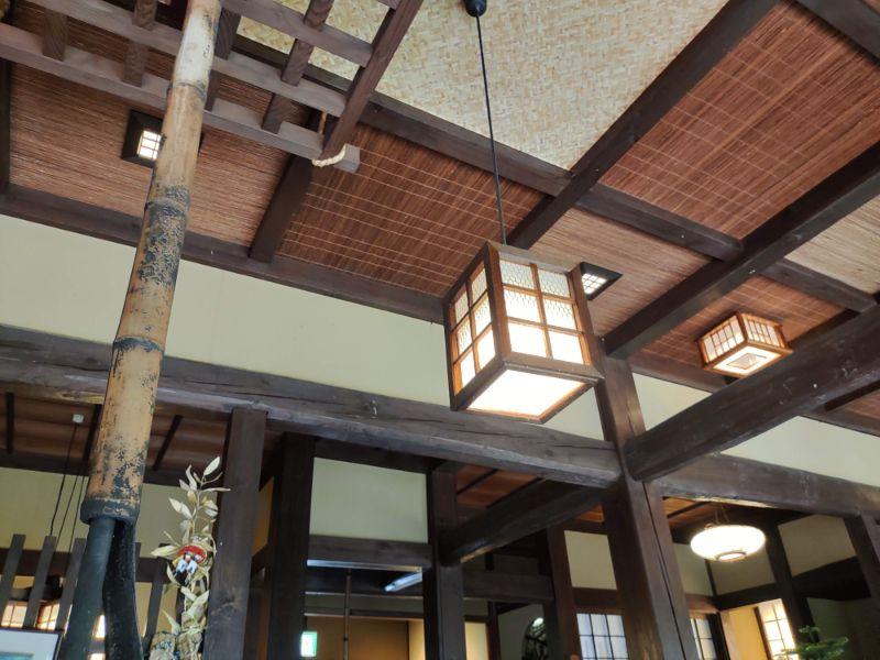 湯谷温泉「はづ別館」の館内の様子
