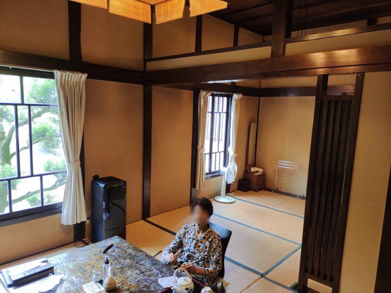湯谷温泉「はづ別館」の部屋